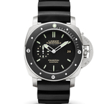 Panerai 沛纳海 LUMINOR SUBMERSIBLE 1950 AMAGNETIC 3 DAYS AUTOMATIC TITANIO Pam00389 - Noob完美版