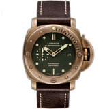 Panerai沛纳海LUMINOR SUBMERSIBLE 1950 3 DAYS AUTOMATIC BRONZO Pam00382 - Noob 终极版