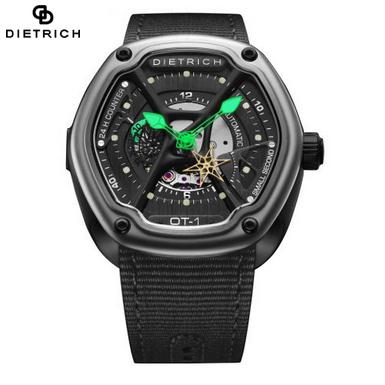 帝特利威Dietrich-有机时间Organic Time系列 OT-1 高端时尚机械男表